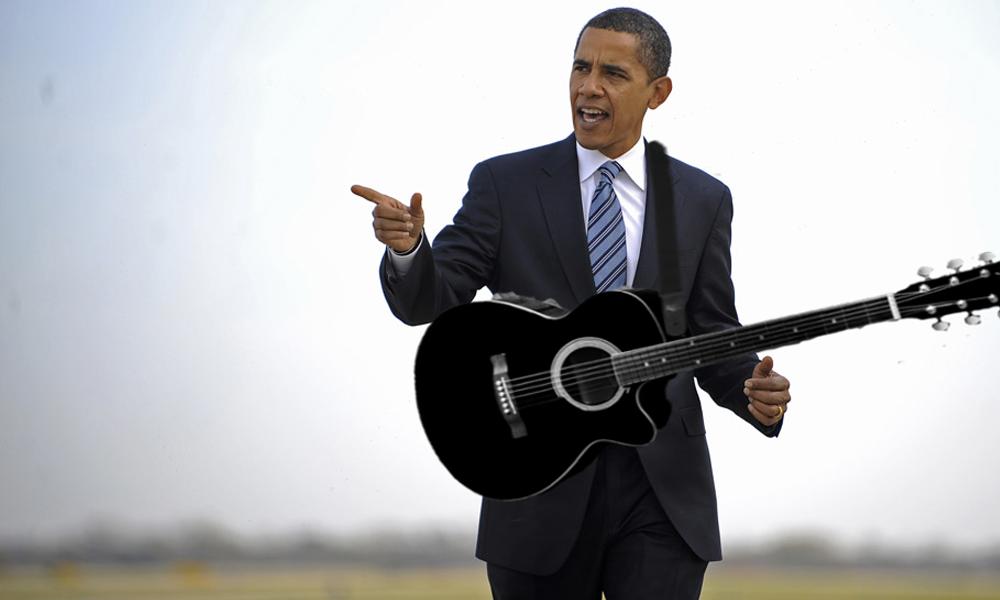 Barack obama va construire un studio d enregistrement jack for Construire un studio de musique